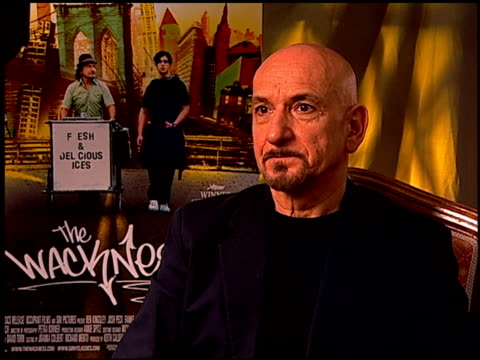 Sir Ben Kingsley on if he has anything in common with his character at the 'The Wackness' Press Junket at Los Angeles California