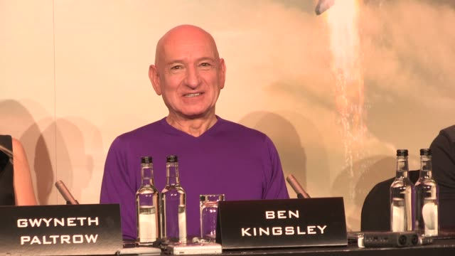 Sir Ben Kingsley on joining the cast at The Dorchester on April 17 2013 in London England
