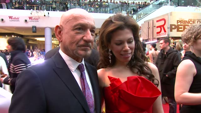 Sir Ben Kingsley on playing the baddy on Jake and Gemma on how Mike Newell compares to the many other directors he has worked with at the Prince of...