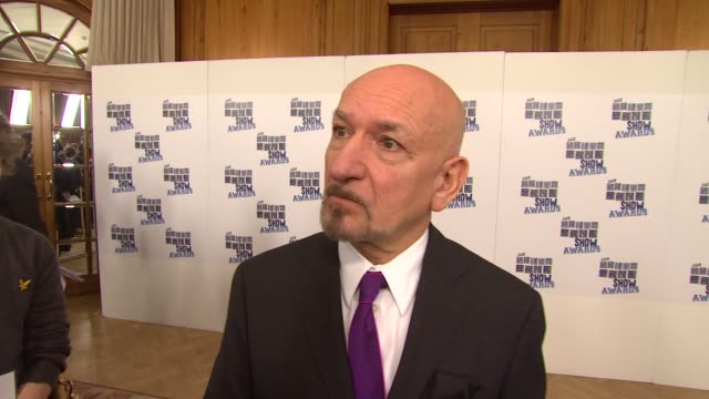 Sir Ben Kingsley on presenting an award on the Southbank show awards and on Prince of Persia at the UK The Southbank Show Awards at London