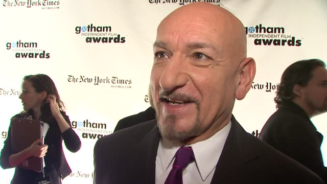 Sir Ben Kingsley on presenting an honor to Penelope Cruz what it was like to work on the film with such an amazing cast what makes tonight special...