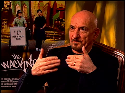 Sir Ben Kingsley on the complexity of his character at the 'The Wackness' Press Junket at Los Angeles California