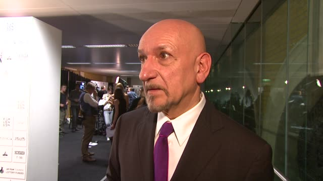 Sir Ben Kingsley on the enthusiasm for the event his thoughts on the film 'Slum dog Millionaire' the terrorist attacks in Mumbai and how independant...
