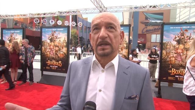 interview sir ben kingsley on the most fun party of voicing this character what makes archibald snatcher a likable villian why this is a film that is... - ben kingsley stock videos & royalty-free footage