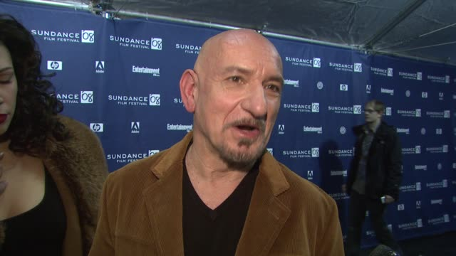 Sir Ben Kingsley on what attracted him to this role why he wanted to be part of an independent film and what he will do while at Sundance at the 2008...