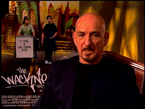 Sir Ben Kingsley on why he attached himself to the film at the 'The Wackness' Press Junket at Los Angeles California
