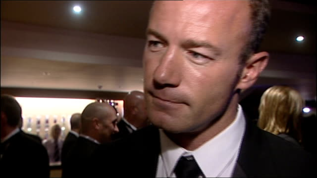 Sir Bobby Robson Foundation fundraising event Alan Shearer interview SOT pays tribute to football career and fundraising work of Sir Bobby Robson...