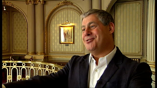 sir cameron mackintosh interview sot - cameron mackintosh stock videos & royalty-free footage