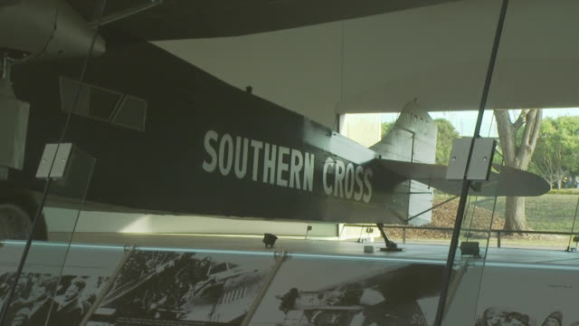 sir charles kingsford smith's southern cross, brisbane, australia - record breaking stock videos & royalty-free footage