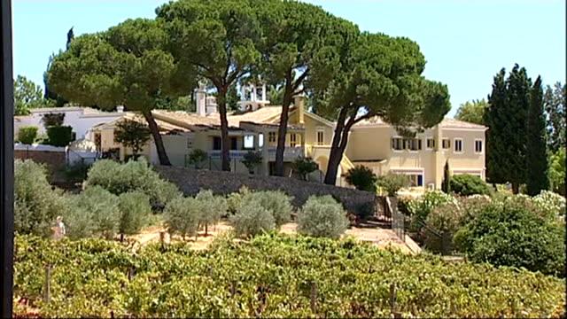 police investigating more allegations of sexual assault; r14081402 portugal: algarve: general views of sir cliff richard's villa - algarve stock-videos und b-roll-filmmaterial