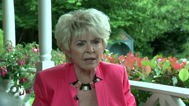 sir cliff richard sex abuse allegations: no charges to be brought; location unknown: gloria hunniford interview sot - gloria hunniford stock-videos und b-roll-filmmaterial