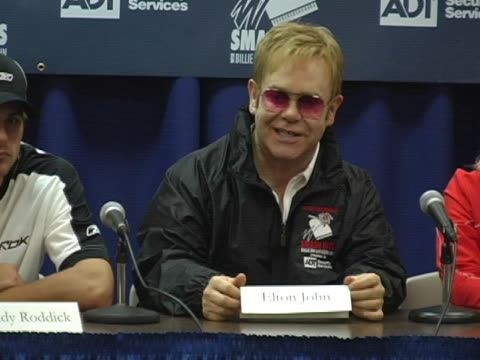 Sir Elton John at the 12th Annual World Team Tennis Smash Hits Benefiting the Elton John AIDS Foundation at Bren Events Center in Irvine California