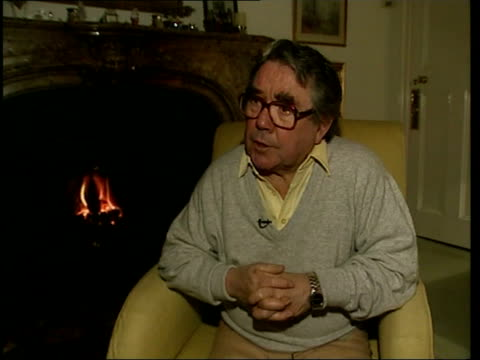 sir harry secombe death itn ronnie corbett interviewed sot he has lived such a wonderful life as a generous good christian chap apart from all his... - harry secombe stock videos and b-roll footage