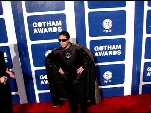 sir ivan at the ifp's 15th annual gotham awards arrivals at pier 60 at chelsea piers in new york, new york on november 30, 2005. - independent feature project video stock e b–roll