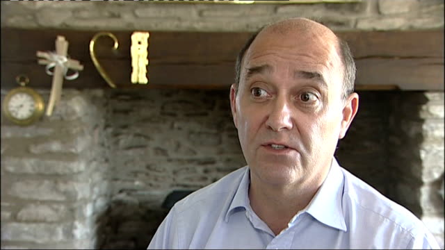 Sir James Crosby resigns over banking row Bristol EXT Paul Moore along Paul Moore interview SOT
