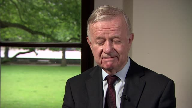 London Westminster INT Sir John Chilcot interview SOT length of time before relese of Chilcot Report due to complexity of case did not shy away from...