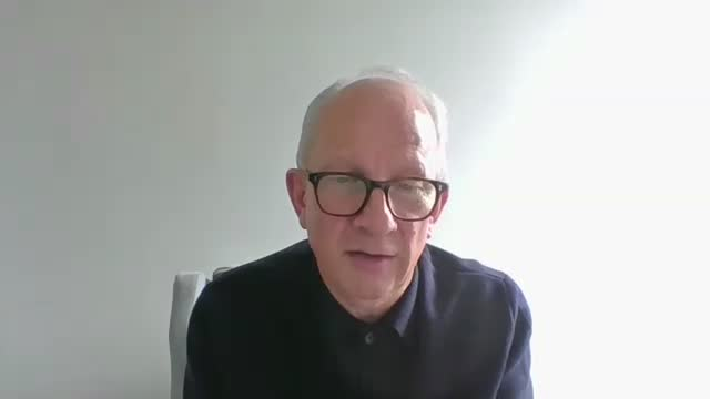 sir john o'brien interview; england: int sir john o'brien interview via internet sot can we get an idea of the scale of the number of people this has... - simplicity stock videos & royalty-free footage