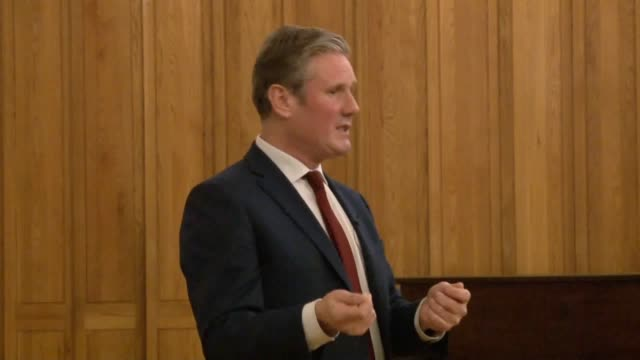 sir keir starmer says the issues that led to the uk's vote to leave the eu need to be addressed. - keir starmer stock videos & royalty-free footage