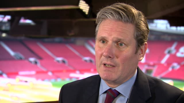 sir keir starmer shadow brexit secretary says i'm not sure it's realistic to expect much change but there needs to be flexibility on both sides - 2016 european union referendum stock videos & royalty-free footage