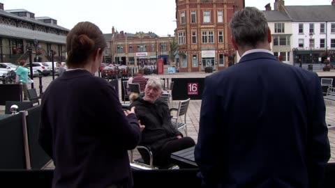sir keir starmer visits darlington; england: county durham: darlington ext darlington labour candidate jenny chapman stands chatting with others as... - darlington north east england stock videos & royalty-free footage