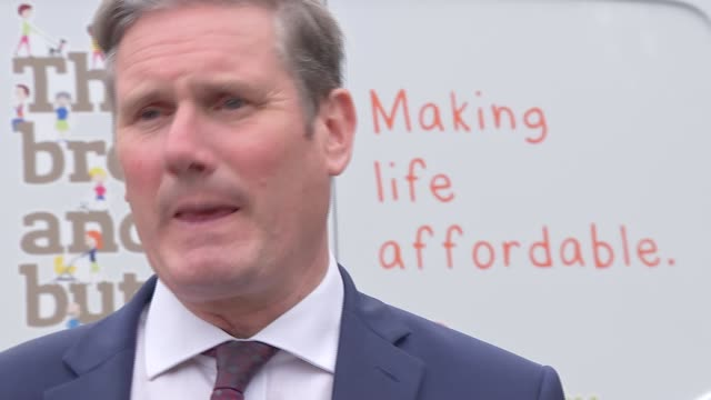sir keir starmer visits darlington england county durham darlington queen elizabeth college int further shots of sir keir starmer mp chatting with... - darlington north east england stock videos & royalty-free footage