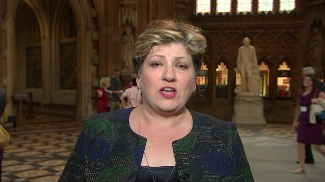 stockvideo's en b-roll-footage met sir kim darroch resigns as ambassador to the us england london gir int emily thornberry mp 2way interview from westminster sot on resignation of kim... - britse labor partij