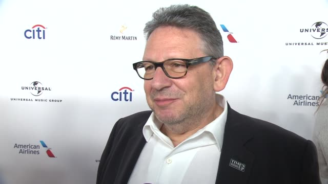 INTERVIEW Sir Lucian Grainge talks about the end of Grammy weekend and what will make future stars stand out at Universal Music Group's 2018 After...