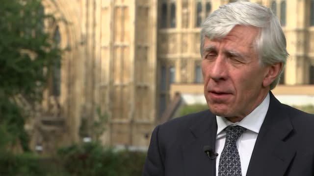 sir malcolm rifkind and jack straw cleared of cashforaccess allegations westminster sir malcolm rifkind interview sot the commissioner who has... - daniel pearl stock videos & royalty-free footage