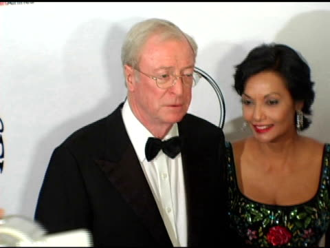 sir michael caine and shakira caine at the 16th annual carousel of hope gala presented by mercedesbenz arrivals at the beverly hilton in beverly... - shakira caine stock videos and b-roll footage