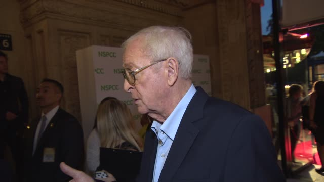 INTERVIEW Sir Michael Caine on retirement and his favorite film directors at A Night Out With… Sir Michael Caine