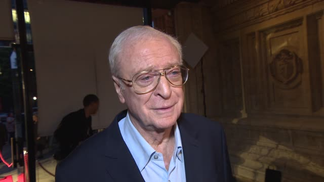 INTERVIEW Sir Michael Caine on why the NSPCC charity is important to him and his favorite film lines at A Night Out With… Sir Michael Caine