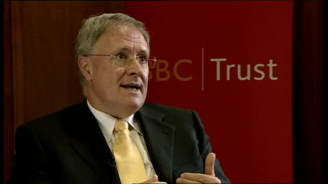 sir michael lyons appointed bbc chairman england int sir michael lyons interview sot on why he wanted the job of bbc chairman / what he brings to the... - persuasion stock videos and b-roll footage