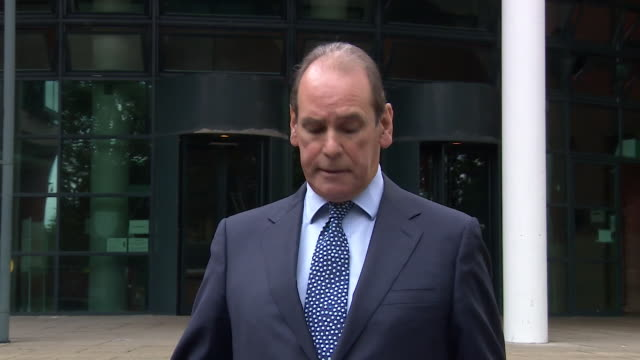 sir norman bettison speaking outside preston crown court after charges of misconduct following the hillsborough disaster were dropped saying he did... - verdict stock videos & royalty-free footage