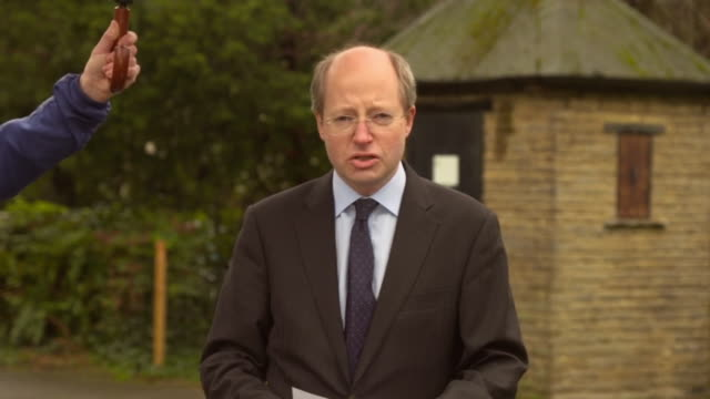 sir philip rutman confirming his resignation as home office secretary after critisicm of home secretary priti patel - home secretary stock videos & royalty-free footage