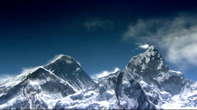 sir ranulph fiennes preparations to climb everest/ prostate cancer nepal mount everest ext general views mount everest - prostate stock videos and b-roll footage