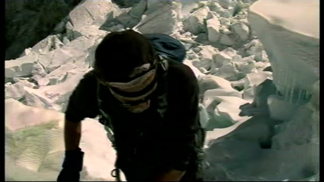 sir ranulph fiennes preparations to climb everest/ prostate cancer fiennes climbing dr rob casserly interview sot - prostate stock videos and b-roll footage