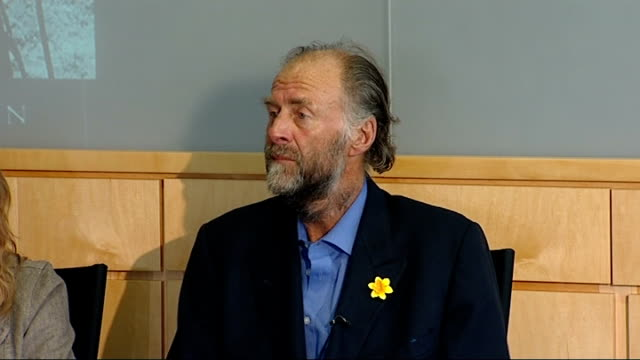 sir ranulph fiennes record breaking ascent of mount everest press conference sir ranulph fiennes press conference continued sot - record breaking stock videos & royalty-free footage