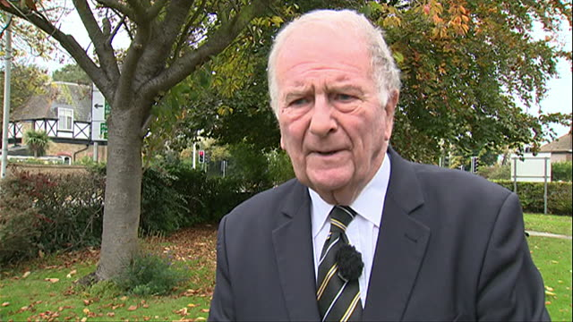 sir roger gale saying that some of the press reaction to sexual harassment allegations at westminster have been a witch hunt - gale stock videos and b-roll footage