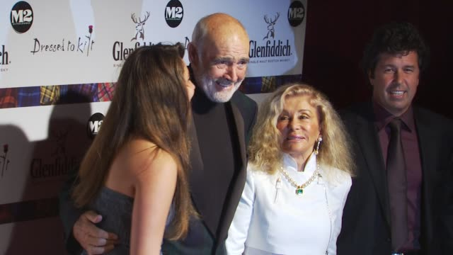 Sir Sean Connery and guests at the 8th Annual 'Dressed To Kilt' Charity Fashion Show at New York NY