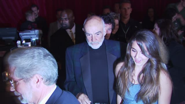 sir sean connery at the 8th annual 'dressed to kilt' charity fashion show at new york ny - dressed to kilt stock videos & royalty-free footage