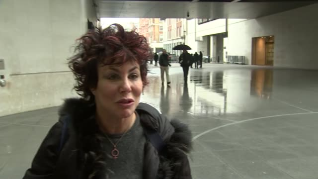 sir terry wogan death: ruby wax interview; england: london: ext ruby wax interview sot - terry wogan stock videos & royalty-free footage