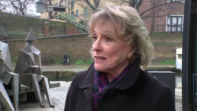 sir terry wogan dies from cancer aged 77; england: london: ext dame esther rantzen interview sot - for terry is was easy / he was best unscripted / a... - terry wogan stock-videos und b-roll-filmmaterial