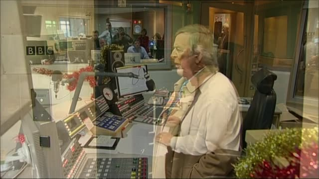 sir terry wogan letters reveal how he nearly missed out on becoming presenter; lib broadcasting house: terry wogan leaving broadcasting house on last... - terry wogan stock videos & royalty-free footage