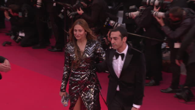 Siran Manoukian Mohammed Al Turki at 'Pain Glory ' Red Carpet Arrivals The 72nd Cannes Film Festival on May 17 2019 in Cannes France
