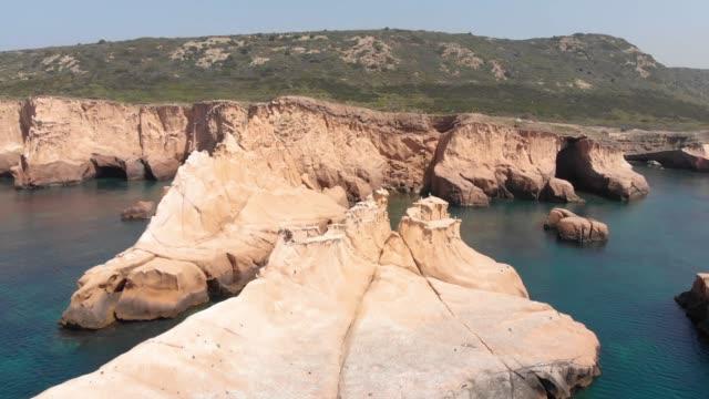 Siren Cliffs and Rocks, Orak Island, Foca, Izmir, Turkey