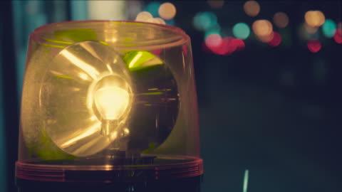 stockvideo's en b-roll-footage met sirene licht - bord in geval van nood