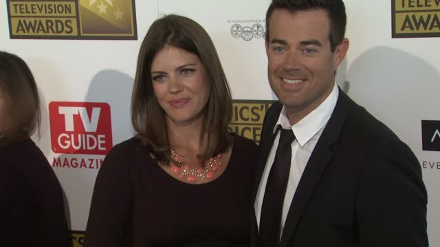 Siri Pinter Carson Daly at 2012 Critics' Choice Television Awards Siri Pinter Carson Daly at 2012 Critics' Choice T at The Beverly Hilton Hotel on...