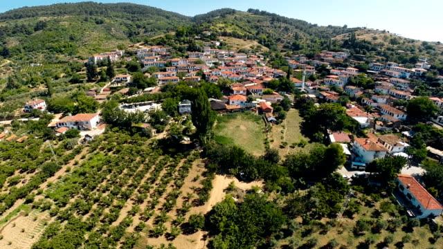 sirince mountain town in turkey - izmir stock videos & royalty-free footage