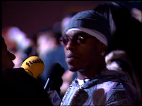 sisqo at the 2000 billboard music awards arrivals and press room on december 5, 2000. - シスコ点の映像素材/bロール