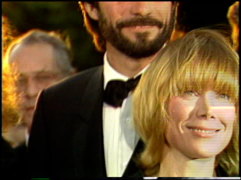 sissy spacek at the 1987 academy awards at dorothy chandler pavilion in los angeles, california on march 30, 1987. - sissy spacek stock videos & royalty-free footage